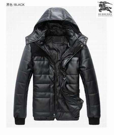 f1412865dbd Manteau polaire Doxtasy Burberry Beige manteau luxe homme solde